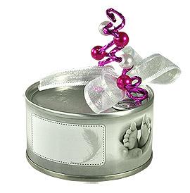 Dragees pour bapteme boites de dragees bapteme emballage dragees ballotins drag es drag es - Boite de conserve pour dragees ...