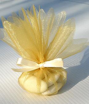 Pochon Dragées doré