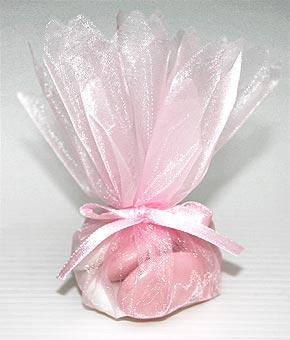 Pochon Dragées Rose