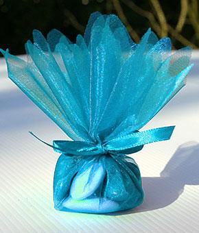 Pochon Dragées Turquoise