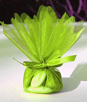 Pochon Dragées Vert Anis