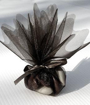 Pochon Dragées noir